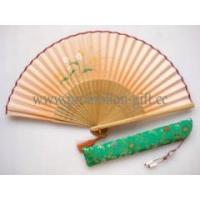Quality Hand-painted silk fan for sale