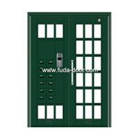 Quality steel security Building door(JNH-1211) for sale