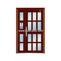 Quality steel security Building door(JNH-1125) for sale