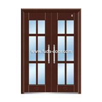 Steel security building door(JNH-1126)