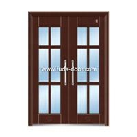 Buy Steel security building door(JNH-1126) at wholesale prices