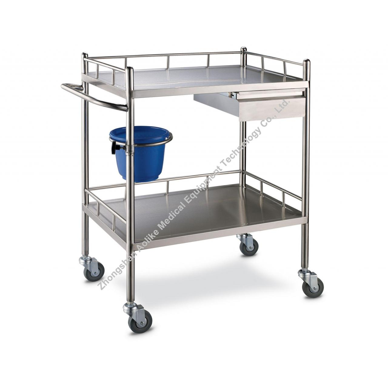 Quality Nursing Carts Stainless steel therapeutic Cart for sale