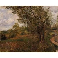 Quality Impressionist(3830) Pontoise_Landscape,_Through_the_Fields for sale