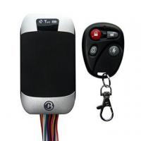 Motorcycle GPS tracker with fuel level monitor and door open alarm