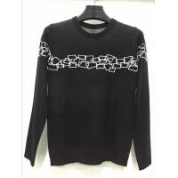 Quality Normal black high quality merino wool man pullover sweater for sale