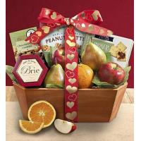 China Holidays Love is Fresh From The Orchard Fruit Gift Basket on sale