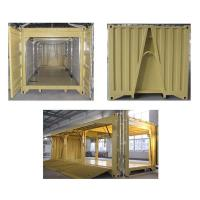 20ft All Door Open Container with A-frame and Roll-Up Door