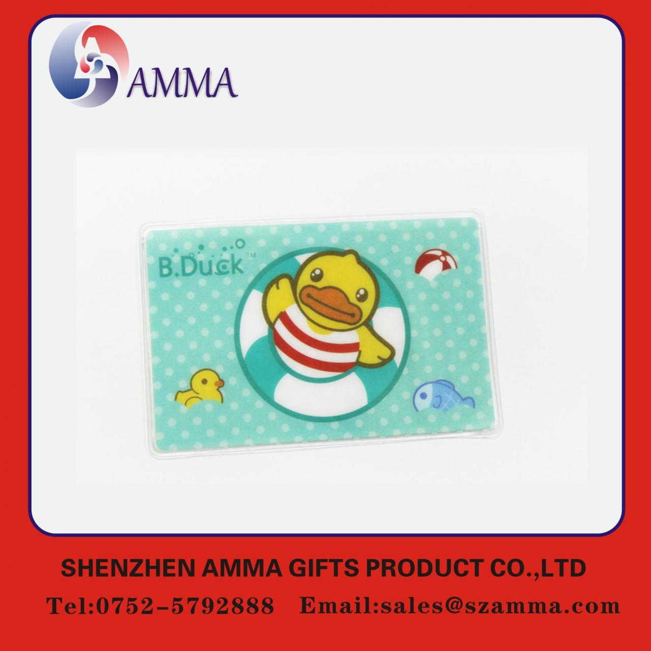 Quality Soft plastic ID card holder for sale