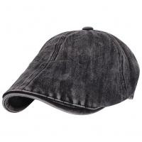 Quality Washed Cotton Casquette Flat Peaked Cap for sale