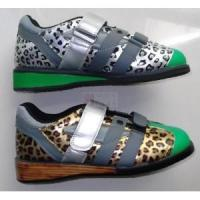 Quality 1137 Leopard Weightlifting Shoes for sale