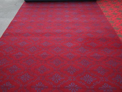 Buy Skid Resistant Bonded Brushed Composite Two-tone Jacquard Carpet at wholesale prices
