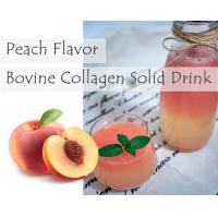 Buy cheap Flavored Bovine Collagen Solid Drink Peach Bovine Collagen Solid Drink from wholesalers