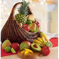 China Fresh Fruit Gift Basket Deluxe NO.19 delivery basket to china on sale