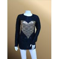 Quality lh68 Heart Print Jumper Lady Basic Pullover for sale