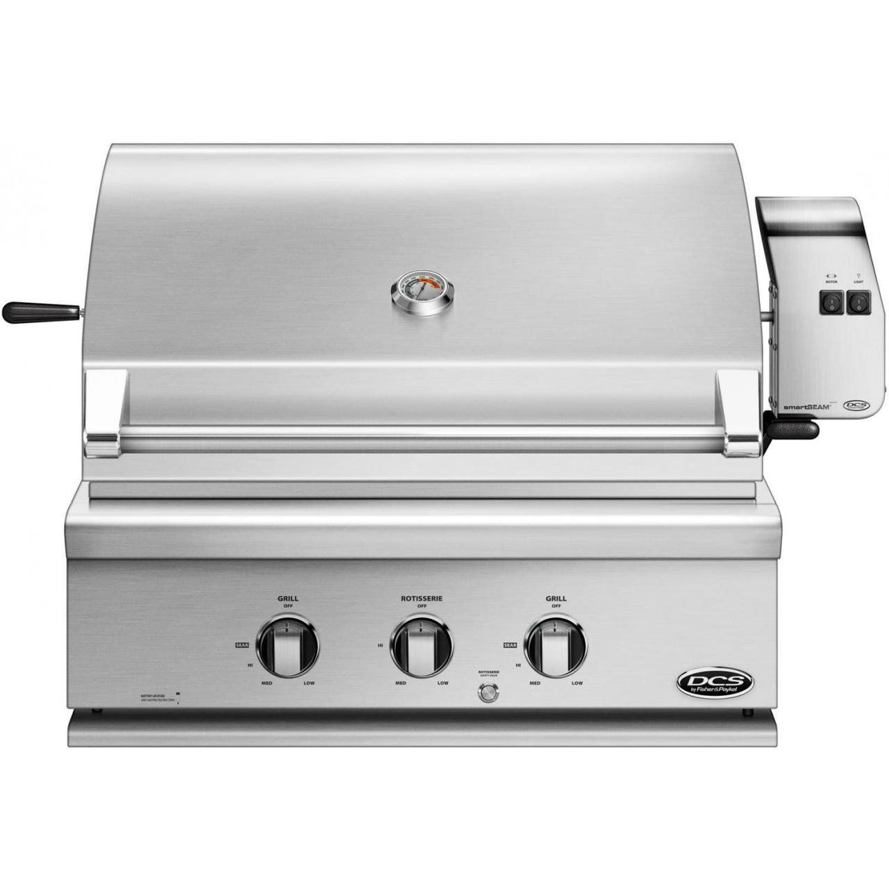 Quality DCS Professional 30-Inch Built-In Natural Gas Grill With Rotisserie - BH1-30R-N for sale