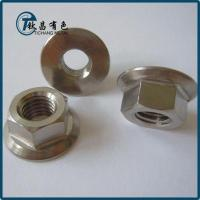 ISO 4161 Titanium Flanged Hex Nuts