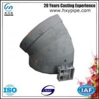Quality ISO9001 Ductile Iron Socket Spigot Elbow 22.5  Pipelines for sale