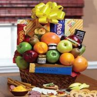 China Orchard Fresh Fruit Gift Basket NO.19 delivery basket to taiwan on sale
