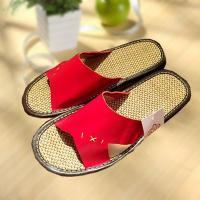 Quality Household comfortable couple leather slipper for sale