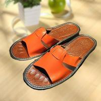 Quality Comfortable cool leather slipper indoor/outdoor for sale