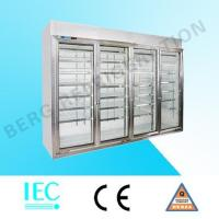 Quality glass door refrigerator LA-4FO for sale