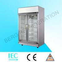 Quality glass door refrigerator LA-2FC for sale