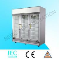 Quality glass door refrigerator LA-3FC for sale