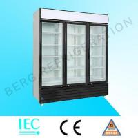 Quality glass door refrigerator LC-3FC for sale