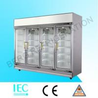 Quality glass door refrigerator LA-4FC for sale