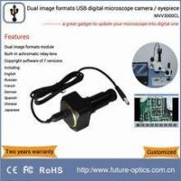 Quality MVV3000CL digital microscope eyepiece camera equipped with high resolving power relay lens for sale