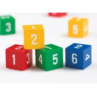 Quality Wooden Number Dice for sale