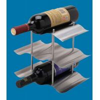 Quality Metal gift and Crafts stainless steel wine stand for sale