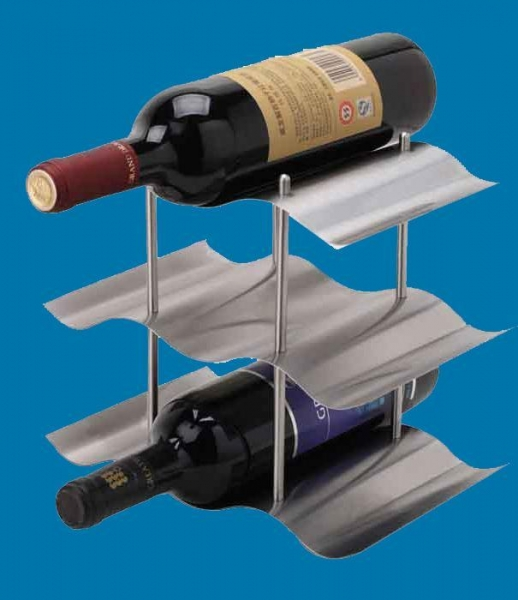 Buy Metal gift and Crafts stainless steel wine stand at wholesale prices