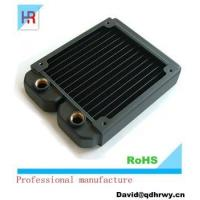 Quality High performance copper projector/machine liquid cooling radiator for sale