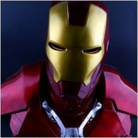 Quality NEW!The Avengers 1/1.5 IRON MAN / Statue/ Colour:Red for sale