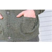 Clothing WoolyWarm Buttnup Tweed Sweater - Derby Green