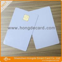 Quality Contact IC Card FM4442 blank white card for sale
