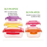 Buy cheap USA hot selling Items 10-piece glass food container set from wholesalers