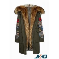 Winter Military Jackets with Faux Fur Hood