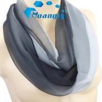 Quality Multi colors high quality soft silk feeling infinity scarf for sale